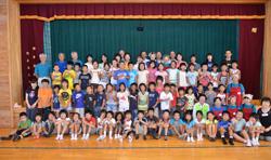 朝日町立さみさと小学校3年生、五箇庄小学校3年生