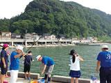 漁師さんと海釣り